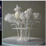 綺麗で繊細な花束を3Dプリントしたい
