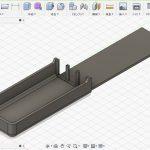 洋食器収納トレイに収納するナイフ用トレイを3Dプリンターで作成